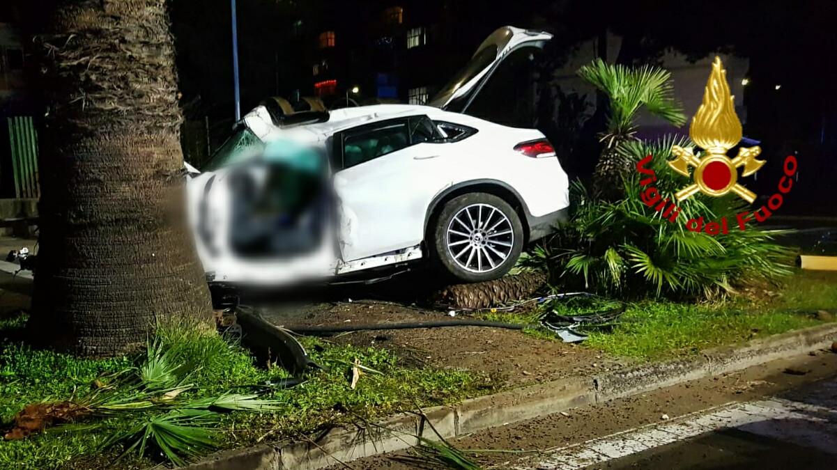 Incidente stradale a Librino