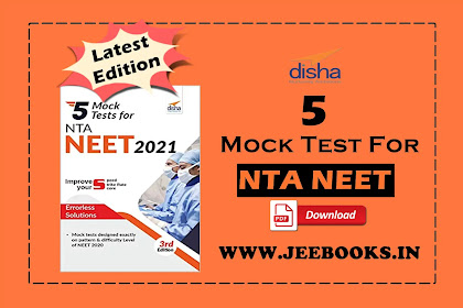 [PDF] Disha 5 Mock Tests for NTA NEET 2021 - 3rd Edition Download