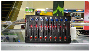 Modempool 8 port USB