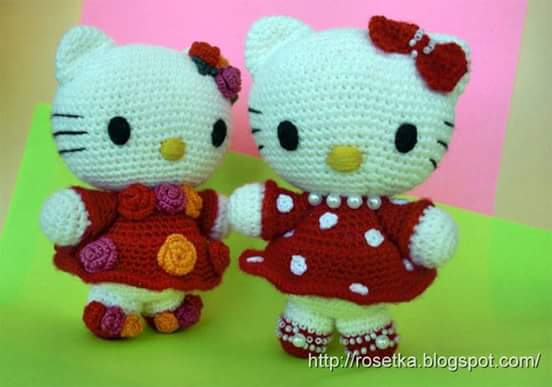 "Amigurumi ""Hello Kitty"" a Crochet"