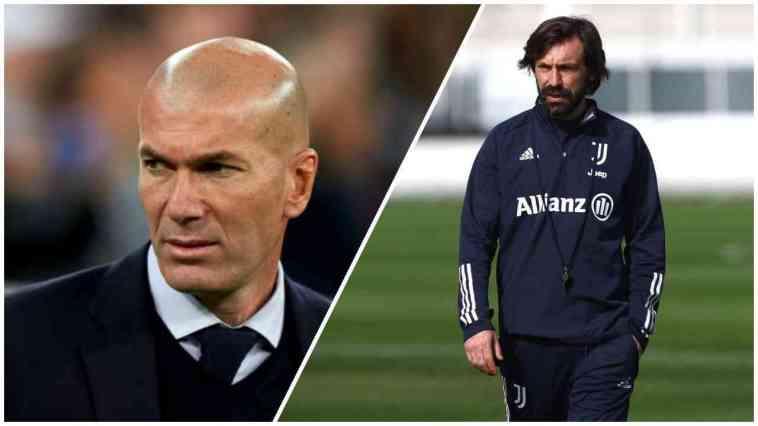 Zinedine Zidane Set To Replace Andrea Pirlo At Juventus