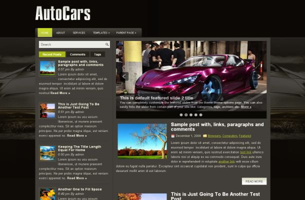 10 abstract sport cars wordpress themes download. Black Bedroom Furniture Sets. Home Design Ideas