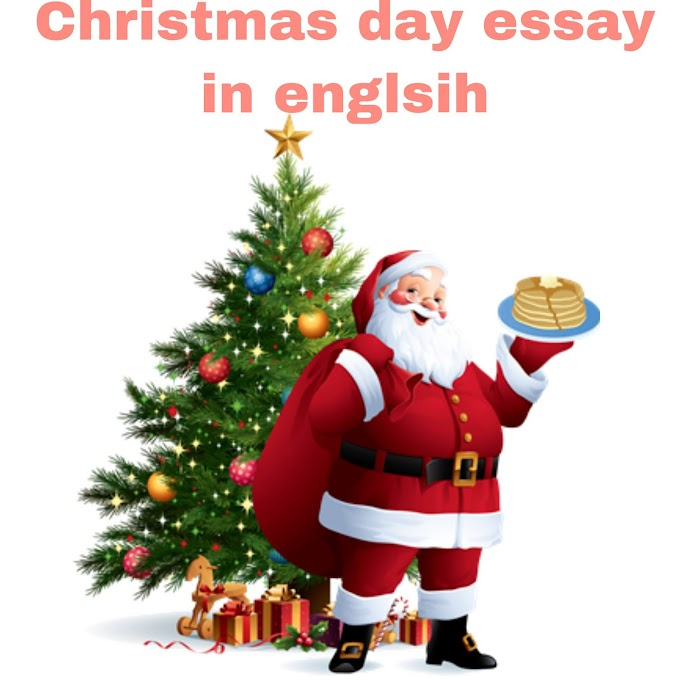 Essay on Christmas in English