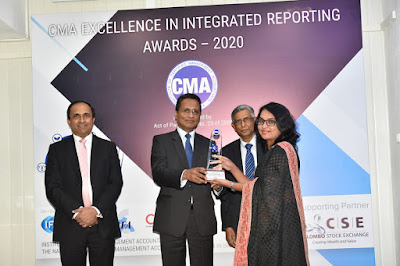HNB recognised at CMA Excellence in Integrated Reporting Awards