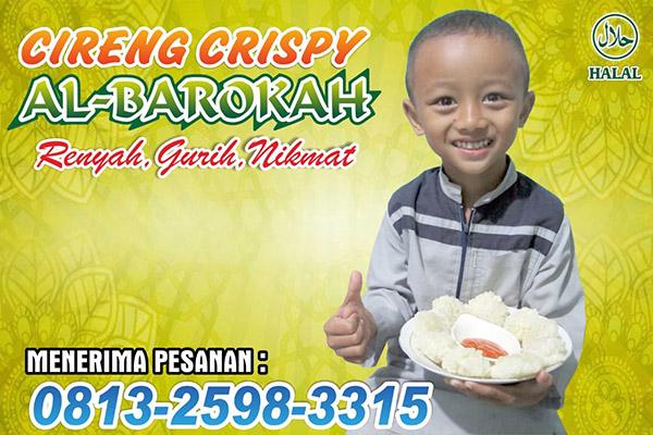 Cireng Crispy Al Barokah Kulon Prapatan Muntung Kabupaten Temanggung
