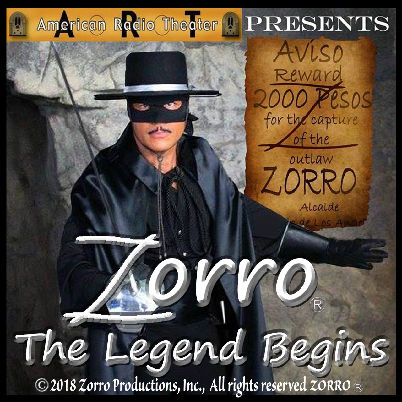 Zorro The Legend Begins Full-Cast Audio Drama