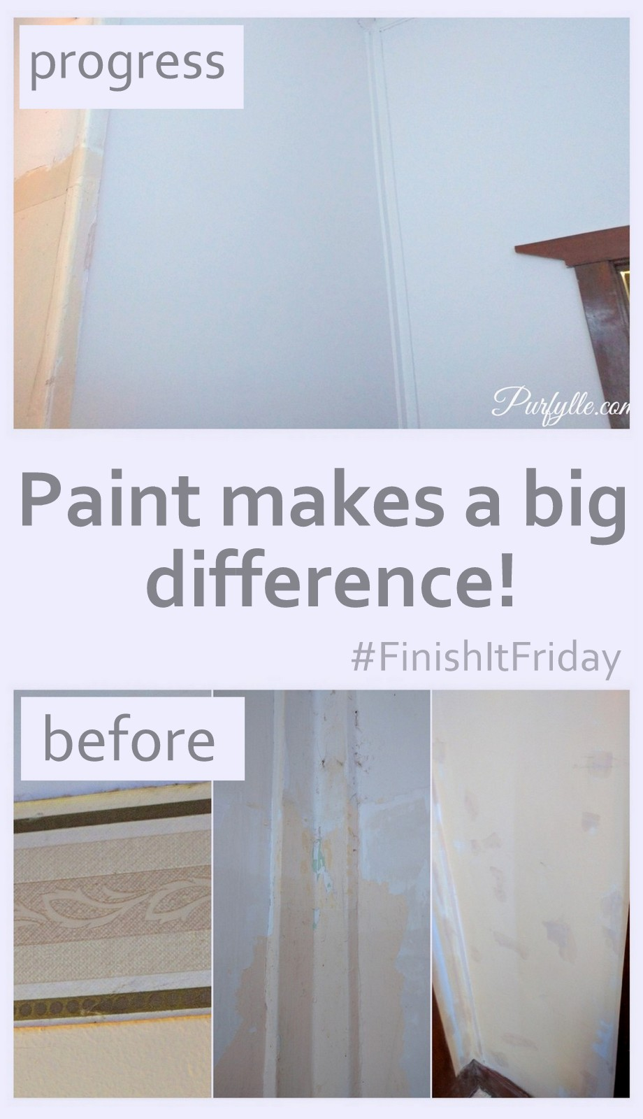 Paint makes a big difference to how a space looks and feels as well as how bright it is.