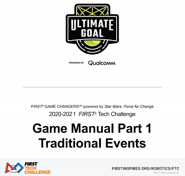 ULTIMATE GOAL presented by Qualcomm Game Manual Part 1 Release