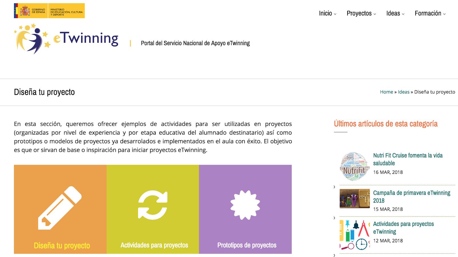 Ejemplos de actividades para proyectos eTwinning