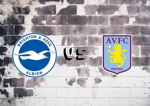 Brighton & Hove Albion vs Aston Villa  Resumen