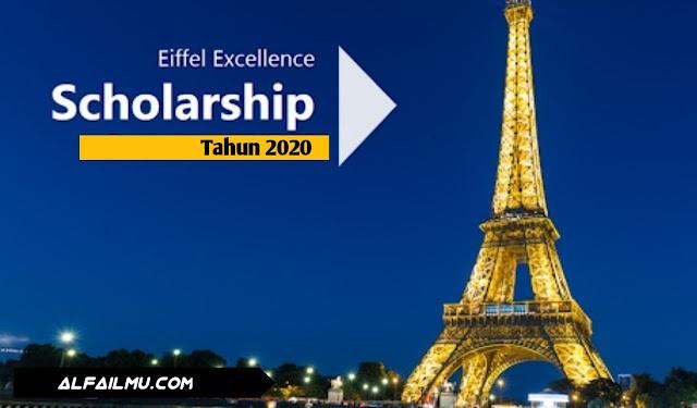 beasiswa eiffel scholarships tahun 2020