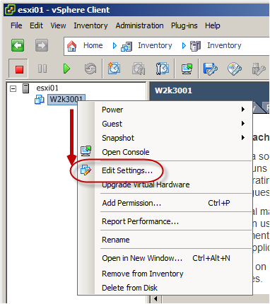 how to add more cpu to vmware