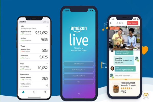ماهي خدمة Amazon Live الحصرية و كيف يمكنك الربح من خلالها أموال محترمة جدا | إليك هذا الدليل الكامل !