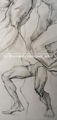 Illustration-Artist-Leonardo-Rodriguez-drawing