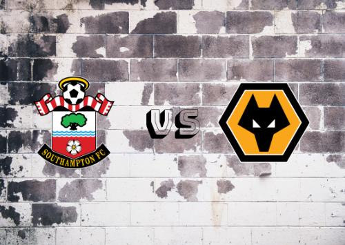Southampton vs Wolverhampton Wanderers  Resumen y Partido Completo