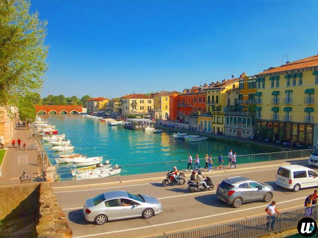 Marina in Peschiera del Garda, Lake Garda | Veneto, Italy | wayamaya