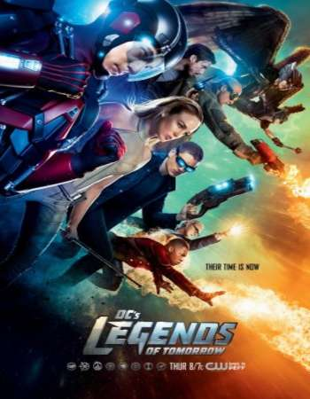 Poster of DCs Legends of Tomorrow S03E10 320MB HDTV 720p x264