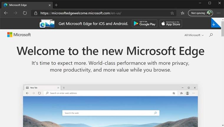 New Microsoft Edge Dirilis Untuk Windows 10, WIndows 7 Dan macOS