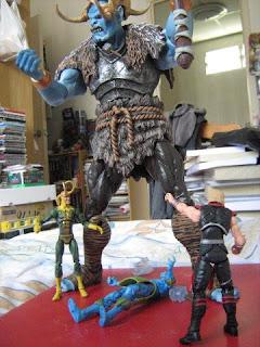 Thor Frost Giants movie comics Loki Odin Marvel Universe Greatest Battles