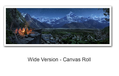 Wide Version - Canvas Roll