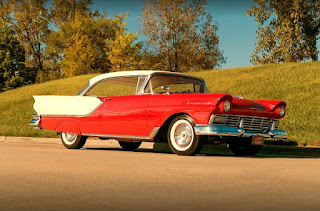 1957 Ford Fairlane Coupe Front Right