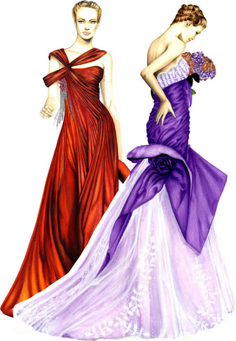 Fashion Design: Fashion Design Sketches: Fashion Designing Is An Art