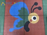 BabyBuild 彩色橡膠地墊