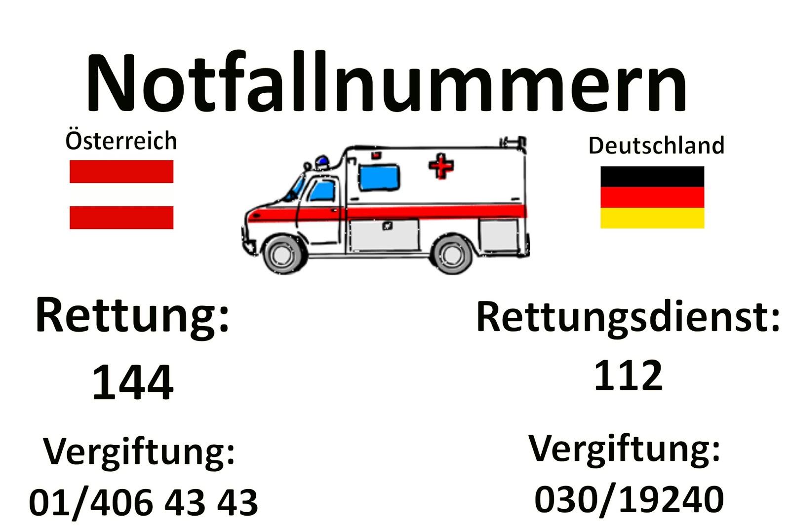 Rettungswagen Rufen