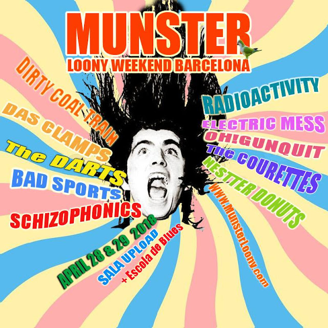 Munster Loony Weekend Barcelona, 2018