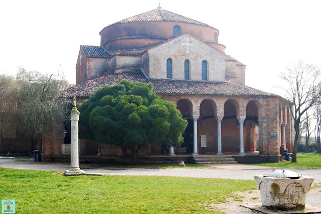 Basílica de Santa Maria della'Assunta en Torcello, Venecia