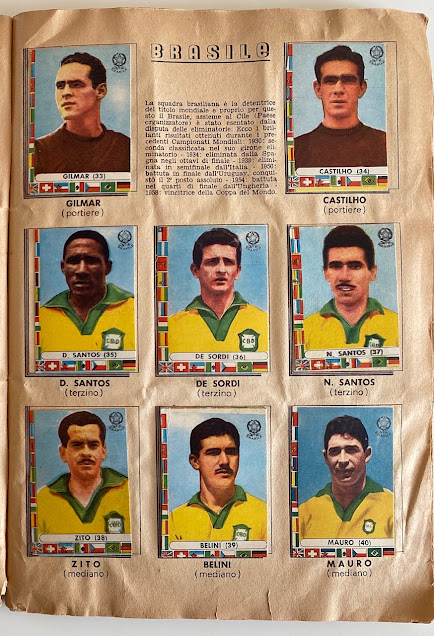 figurine brasile cile 1962