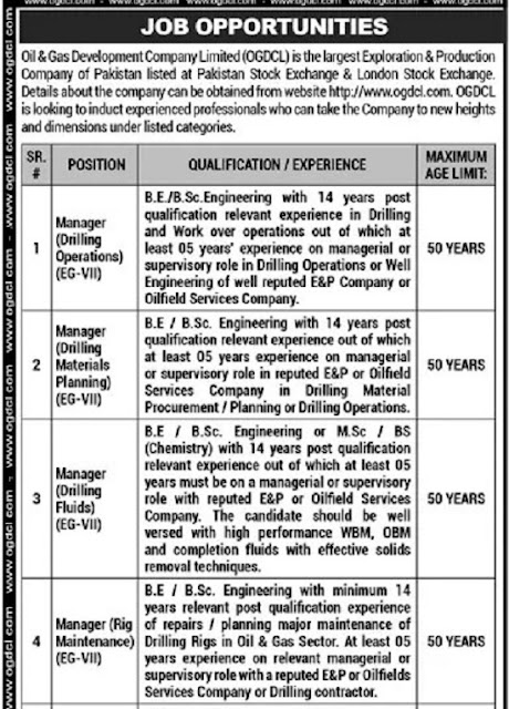 oil-gas-development-company-limited-ogdcl-jobs-2021