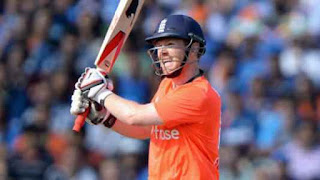 Eoin Morgan 71 - England vs India Only T20I 2014 Highlights