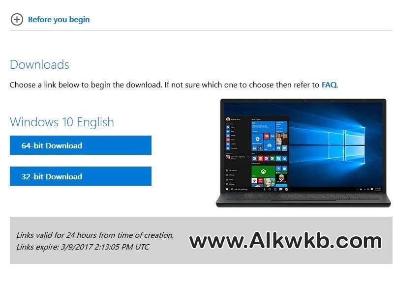 تحميل آخر إصدارات الويندوز بروابط رسمية من مايكروسوفت