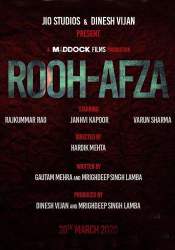 full cast and crew of Bollywood movie Rooh-Afzana 2020 wiki, movie story, release date, Rooh-Afzana Actor name poster, trailer, Video, News, Photos, Wallpaper, Wikipedia