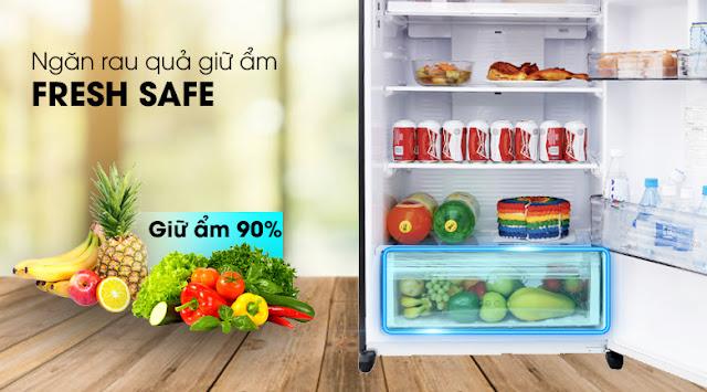 Tủ lạnh Panasonic NR-BL381WKVN