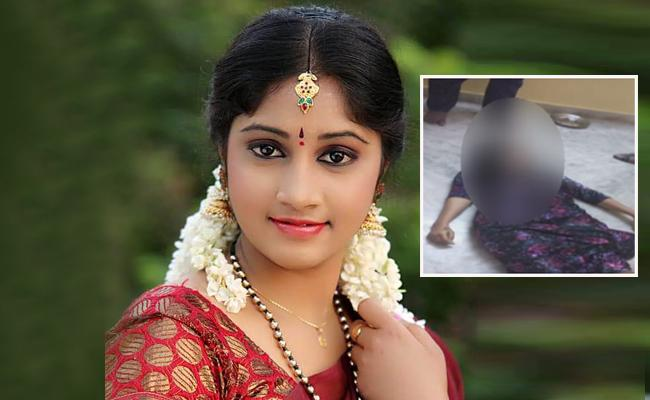 Telugu TV actress Jhansi commits suicide.....