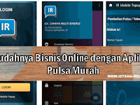 Mudahnya Bisnis Online dengan Aplikasi Pulsa Murah IR Mobile Topup