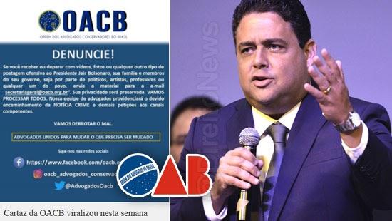 oab processar ordem advogados conservadores brasil