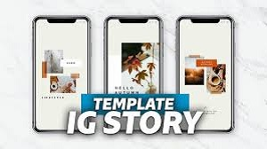 Template dan Ukuran Story Instagram (Instastory)
