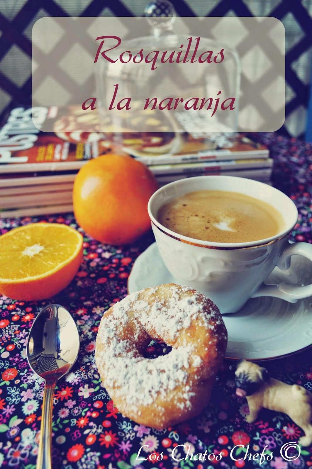 Rosquillas a la naranja