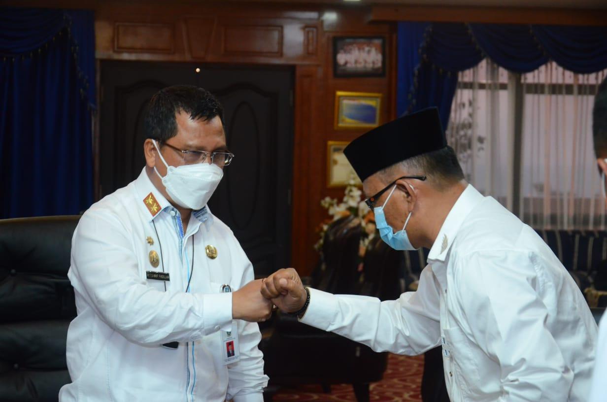 Syamsudi menjabat sebagai Plh Bupati Lingga Terhitung Hari Ini