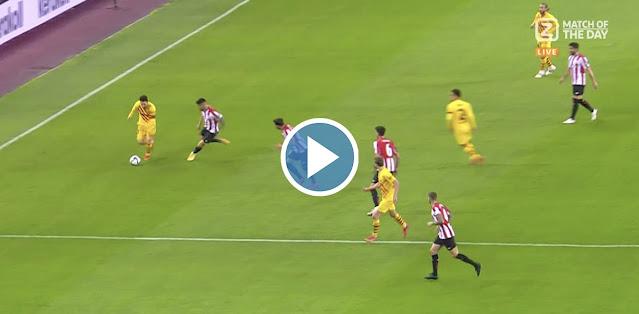 Lionel Messi vs Athletic Bilbao (CDR Final 2021)