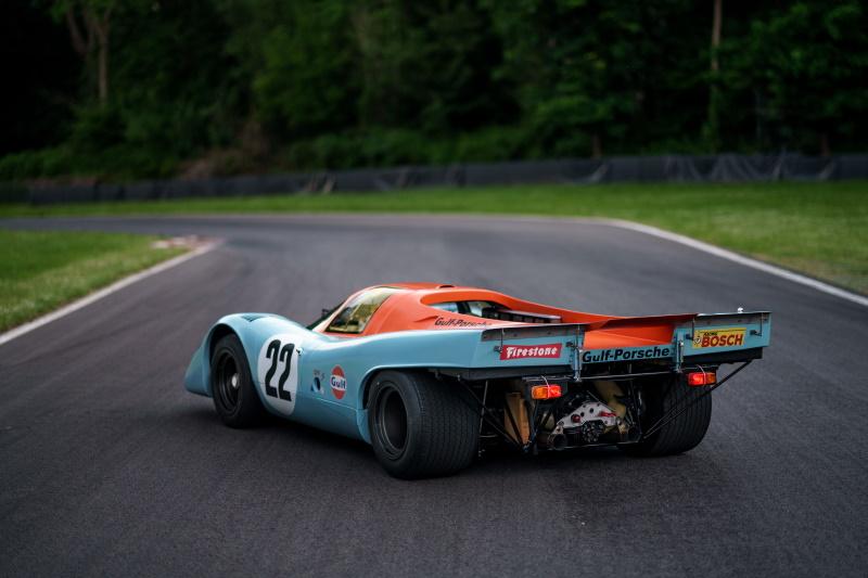 Steve McQueen's Le Mans Porsche 917 K