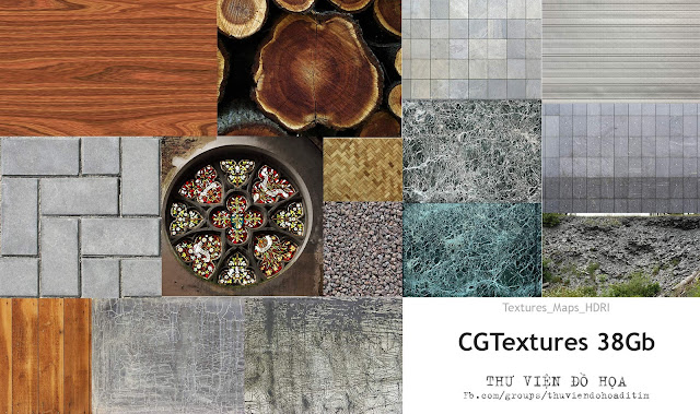 38 GB Textures Full - A set of Maps library