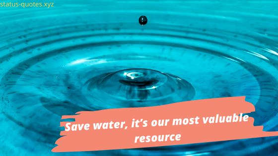 Save Water Slogans On Save Water