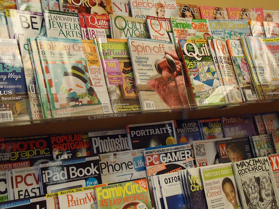Where did the magazines go?