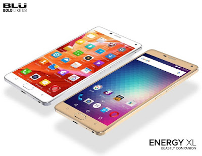 BLU Energy XL with 6-inch display, fingerprint sensor and 5,000mAh battery launched