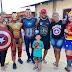 Na ARENA ALFAZEMA teve de Mulher Maravilha a Capitão Alberto Neto, os super-heróis da alegria visitaram a Zona Leste