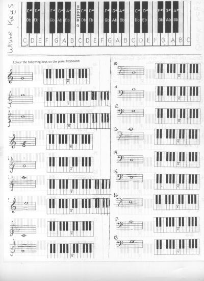 Miss Jacobson S Music Theory 8 Grand Staff Note Reading